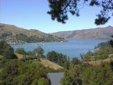 The Banks Peninsular to Akaroa is winding and has lovely views
